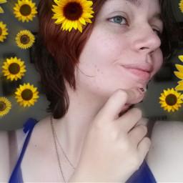 sunflower editbyme zoomfocal zoomblureffect freetoedit
