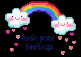 rainbow fuck aesthetic tumblr edgy freetoedit