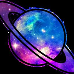 galaxy planet saturn freetoedit scplanetstickers