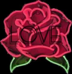 rose aethetic art love messy freetoedit