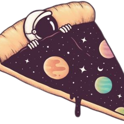 freetoedit pizzaplanet pizza planets space scplanetstickers