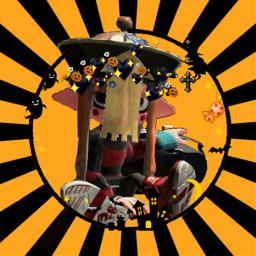 halloween splatoween inklinggirl spooky squid freetoedit