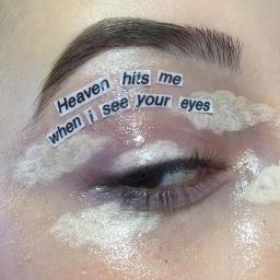 heaven heavenly eye eyeshadow eyemakeup