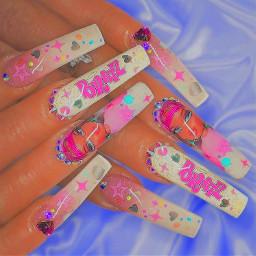 bratz nails cute nailart jewel