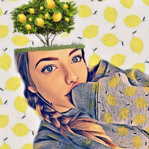 #freetoedit,#irclemonbackground,#limoni,#giallo,#ragazza
