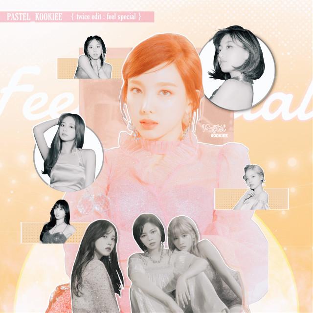 —- feel special - { twice }   highly reccomended song - picky picky by weki meki   — love. #nayeon #jeongyeon #momo #mina #jihyo #dahyun #sana #chaeyoung #tyuzu #twice #jyp #kpop #kpopedit #twiceedit  #freetoedit
