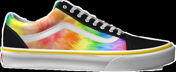 rainbow vans rainbowvans shoes shoe freetoedit
