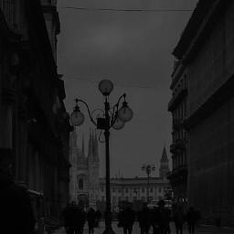 aesthetic black blackaesthetic city alleyway