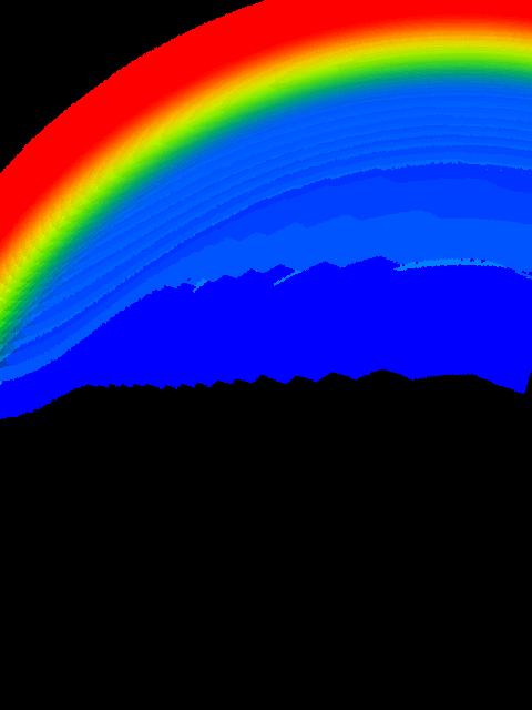 #rainbow #arco_iris #efeito