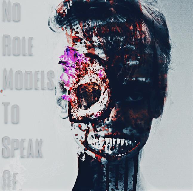 #freetoedit #lynnbrewer #model #darkside #darkart #madewithpicsart  #gore #scary