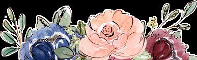 #watercolor #flowers #floral #border #frame #blush #navy #burgundy #maroon #png