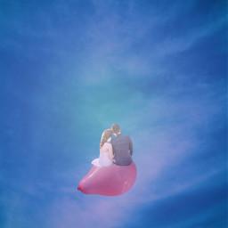 freetoedit ballon sky madewithpicsart becreative