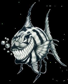 fish peixe tattoo tatuagem tribal freetoedit