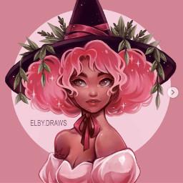 witch october halloween cutehair cutegirl