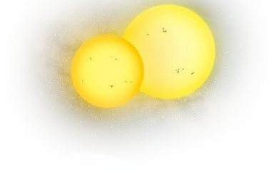 ftestickers yellow planets freetoedit