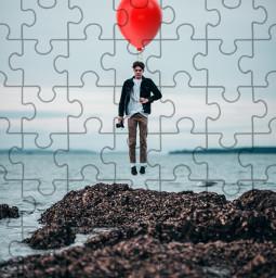 freetoedit becreative creative boy ballon