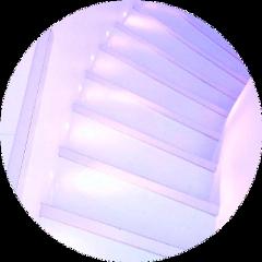 purple stairs aesthetic circle purplecircle freetoedit