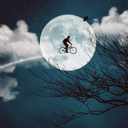 blue chill ridethemoon aim twilight freetoedit