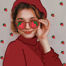 freetoedit morango strawberry 🍓 tumblr