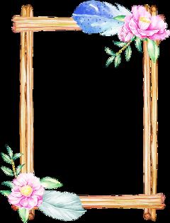 freetoedit flowers wreath wood feathers