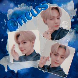 hwanwoong oneus kpop collage white freetoedit