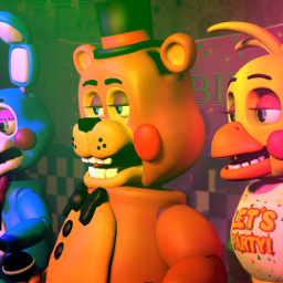 freetoedit fnaf serie toychica toybonnie