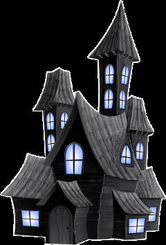 schauntedhouse hauntedhouse creepy house halloween freetoedit