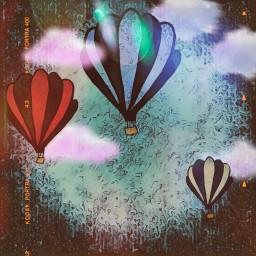 freetoedit globos dise dchotairballoon hotairballoon