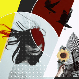 graphicsdesign bird autumn dots freetoedit