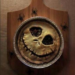 halloween halloweendecorations pie freetoedit jackolantern