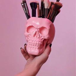freetoedit halloween halloweendecorations skull