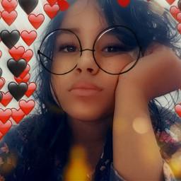 freetoedit snapchat corações efeito