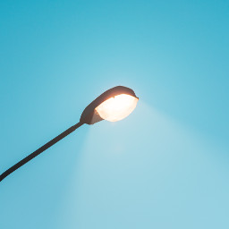 lamp light sky freetoedit