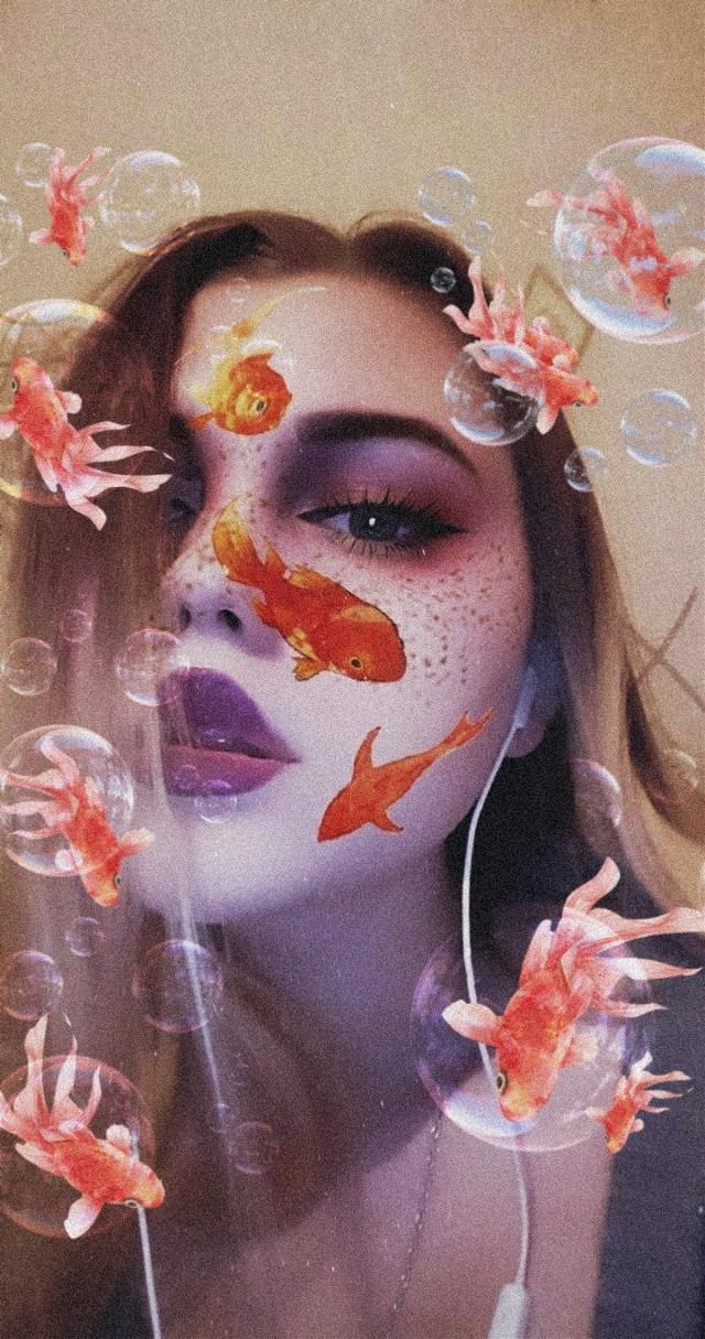 #freetoedit #рыбы #пузыри #fish #booble