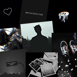 freetoedit black aesthetic blackasthetic