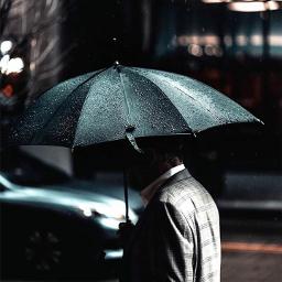freetoedit remixit umbrella rain dero_d