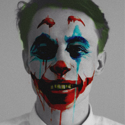 freetoedit jokerface jokersmile doublexposure madewithpicsart