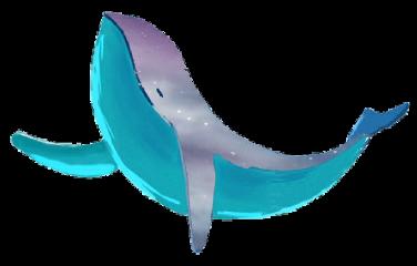 big fish shark illustration sticker freetoedit