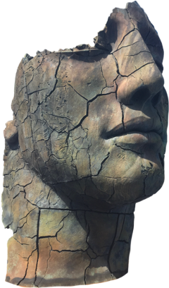 face statue cracked vipshoutout freetoedit