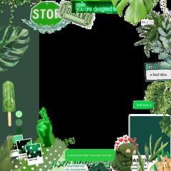 freetoedit vsco aesthetic green text