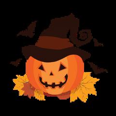 pumpkin halloween hat freetoedit