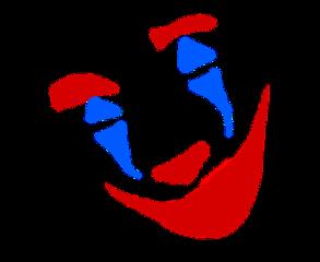 joker jokerface mask color freetoedit