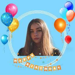 birthday girl freetoedit