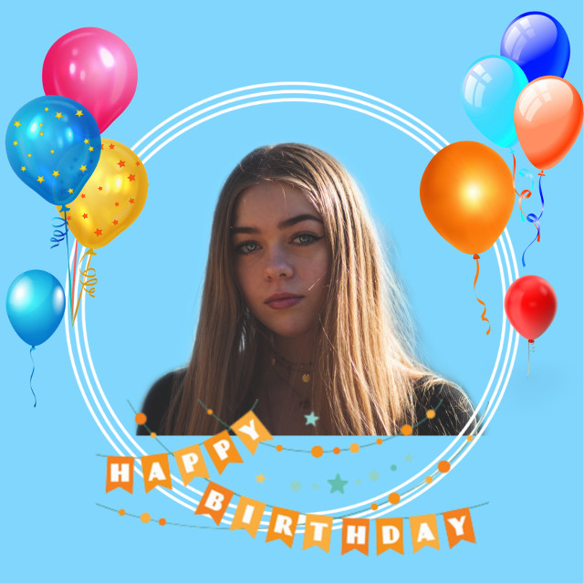 #birthday #girl  #freetoedit