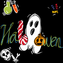 freetoedit boo hallowen candy dchalloweencreatures