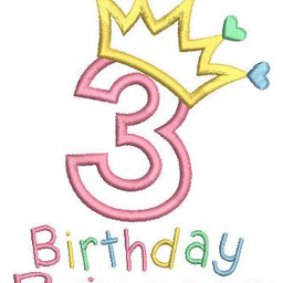 cmbquotes numbers three birthday