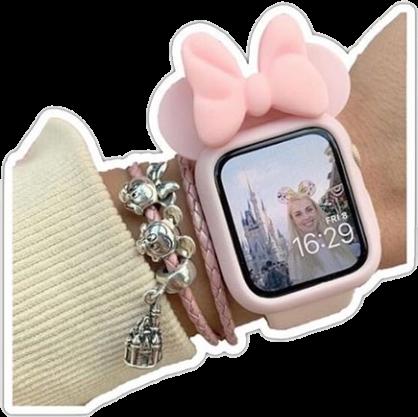 #applewatch #watch #clock #clocks #aestheticclock #aestheticwatch #disneylandclock #cutewatch #filler #png #olive_pngs