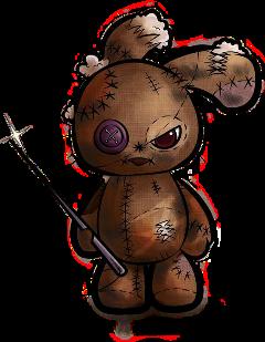 voodoodoll voodoobunny voodoo bunny ragdoll freetoedit