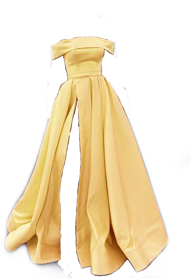#yellow #dress #ballgown #gown #png #pngs #yellowpngs