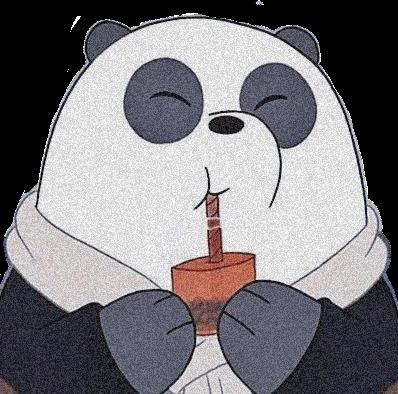 #panda #webearbears #aesthetic #bear #grey #noiseeffect #pandabear #aestheticsticker #aestheticbluetheme